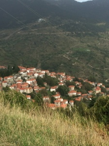 Metsovo at the bottom of a gravity-aided drop