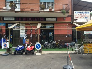 The bike shop that replaced my broken bicycle computer on short notice