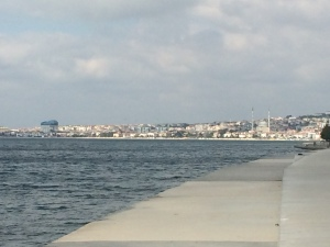 Another path literally right on the Sea of Marmara