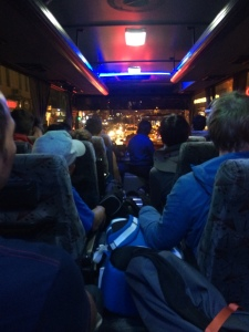 On the all-night bus ride from Istanbul to Cappadocia