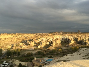 Sunset in Cappadocia, Turkey
