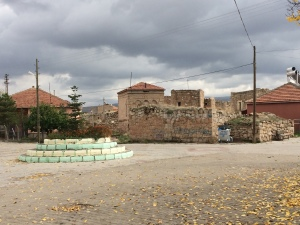 The village of Alanyurt from the front of the mosque