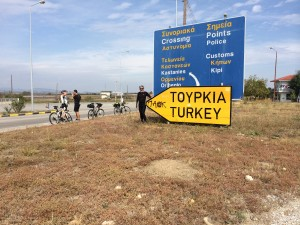 Entering Turkey unaware that protests over weak response to ISIS will erupt hours later (October, 2014)