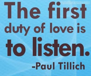 Theologian Tillich who has inspired many a preacher.