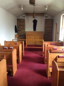 The small chapel at St. Luke's Episcopal in Grants Pass, OR