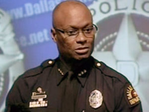Chief David Brown of the Dallas Police Department